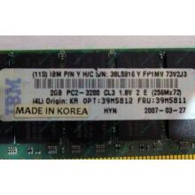 IBM 39M5811 39M5812 2Gb (2048Mb) DDR2 ECC Reg memory (Краснозаводск)